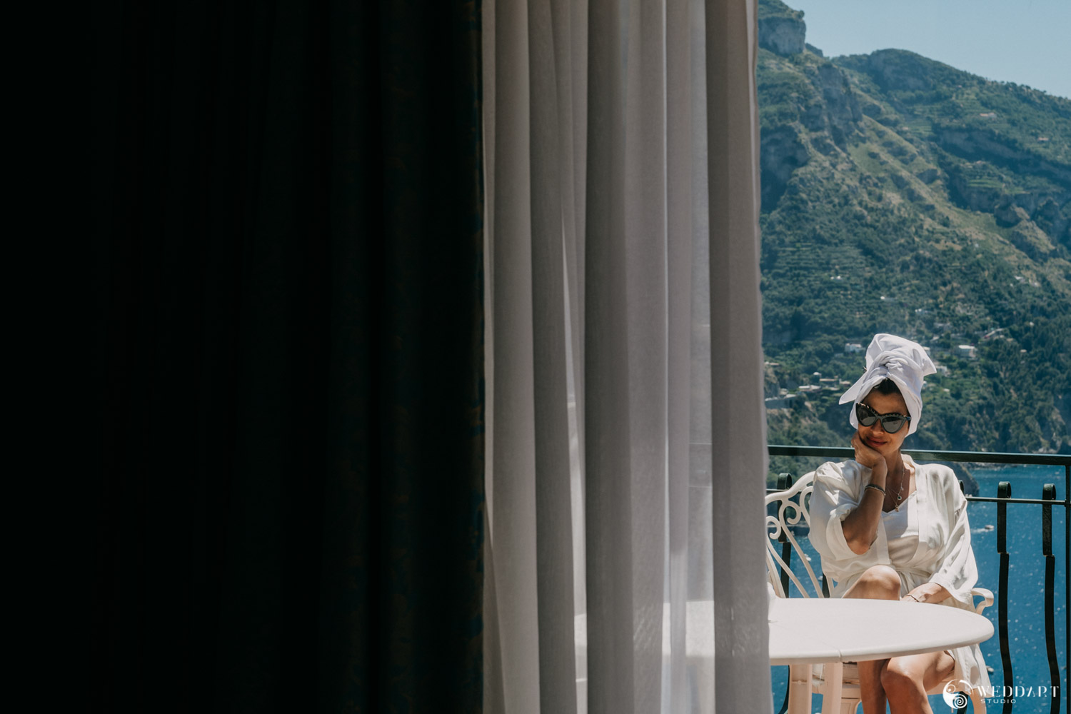 Luxury Wedding - Amalfi Coast - Destination Wedding Photographers and Videographers - Wedding Reportage - Weddart Studio - Giuseppe De Angelis - Simone Olivieri